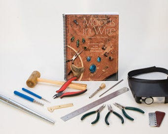 Advanced WIRE WRAPPING Tool KIT - Metal Working Jewelry Tool