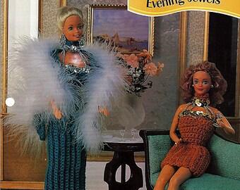 Evening Jewels Crochet Pattern Annies Fashion Doll Crochet Club FCC09-04