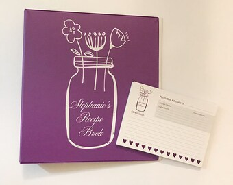 recipe binder bridal shower