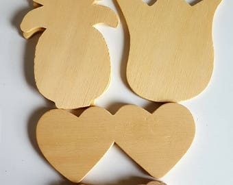 Wood Cut Out Shape Collection/Wood Craft Collection/Wood Shapes