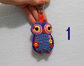 Owl cute trinket-keychain-cute owl-toy