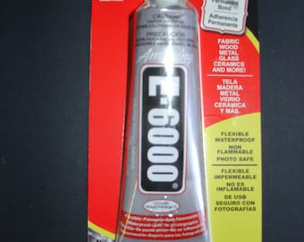 Amazing E-6000 Industrial Strength Adhesive - 2 FL OZ
