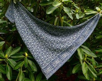 Scratch & Peck Shawl Knitting Pattern