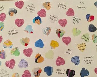 100 handmade Disney Sleeping Beauty confetti