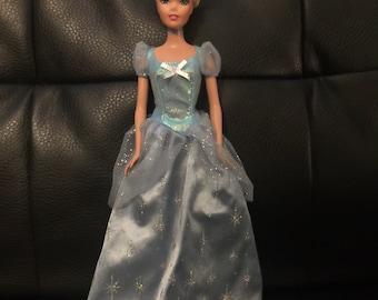 "Cinderella 11"" Barbie-like Doll"