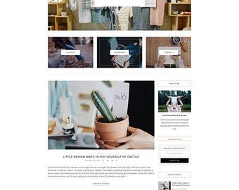 Natalie - A Blog and Shop Theme - Responsive WordPress Blog Theme - Feminine Wordpress Theme - WooCommerce Compatible - WordPress Theme