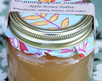 Homemade Apple Honey Butter - 8oz