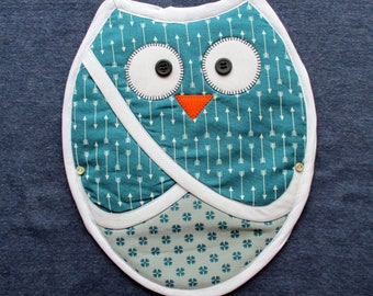 Pot Holder - Curious Owl 1