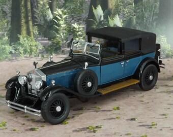 Franklin Mint 1929 Rolls-Royce Phantom 1:24 scale Diecast very good condition