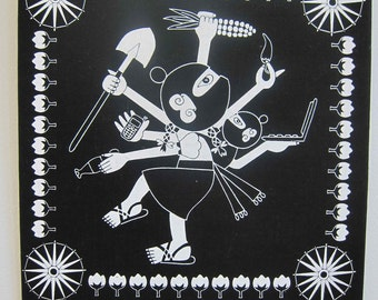 Zapashiva  (Zapatista Shiva) by Duncan Tonatiuh