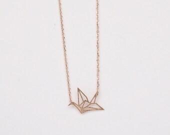 Vivian Rose Gold Necklace
