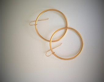 Gold Hoops Earring, Large Hoop Earrings, Hoop Earrings, Woman's Hoop Earrings, Unique Earrings, Gold Dangle Earrings, Hoop Drops Earrings