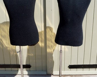 A Pair of Vintage Italian Shop Display Mannequins - Giuseppe Uomo