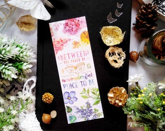 Between the pages - bookmark