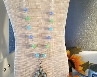 Water Opal Necklace