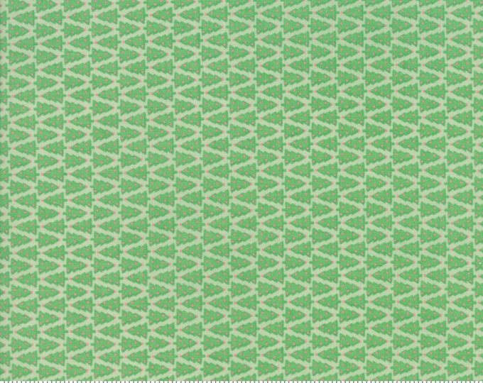 Swell Christmas Green 31125 19 by Urban Chiks for Moda Fabrics
