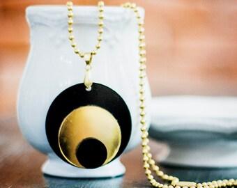 Geometric Necklace,Plexiglass Jewelry,Lasercut Acrylic,Gifts Under 25