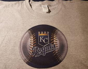 Kansas City royals baseball custom made T-shirts,   Royals shirts, pick your color shirt