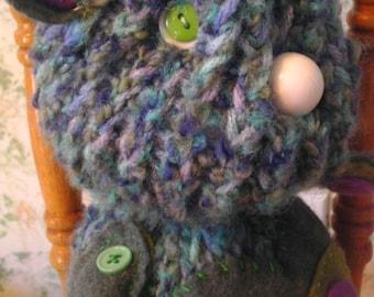 Gopher - plush, woodland, OOAK, handmade