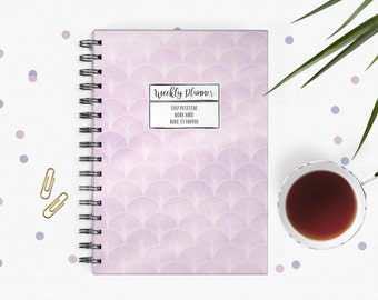 Weekly Planner - A5 - Weekly Schedule - Undated - Mermaid Design
