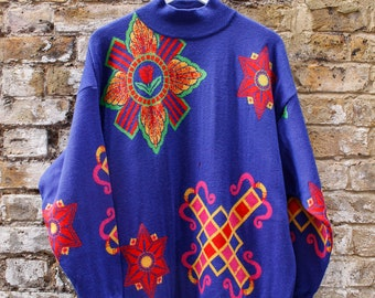 Versace Knitted Sweater Large