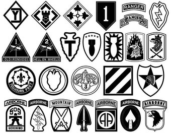 Military Unit Patches