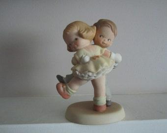 Memories of Yesterday We's Happy! How's Yourself Vintage Enesco figurine