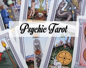 Psychic Reading, 1000 + words, an in depth reading with messages from Spirit and tarot reading combined.