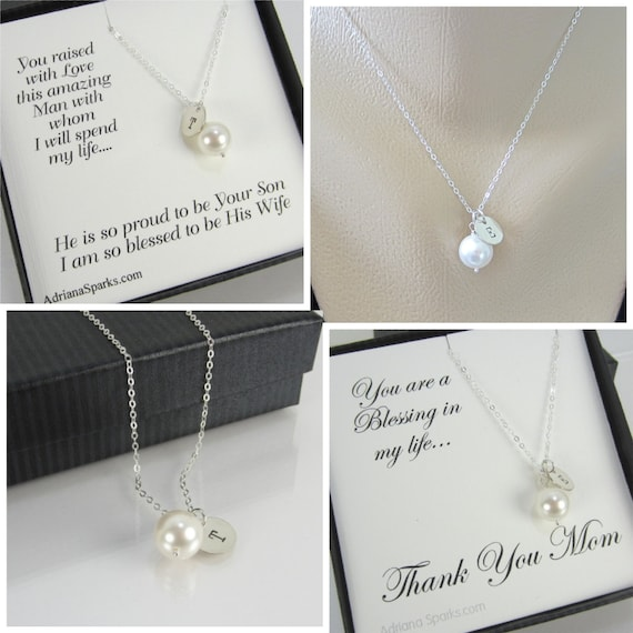 Bridal Gift From Mother: Mother Of The Bride And Groom Gift Set Of 2 Personalized