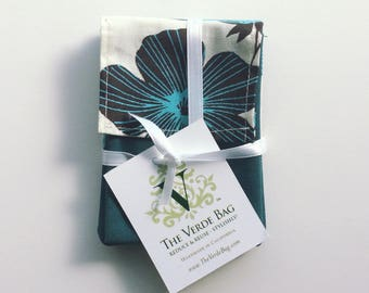 Graphic Floral Gift Card Holders (3-pack)