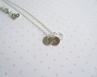 Personalized Necklace, Initial Necklace, Charm Necklace, Monogram Necklace, Made in Sweden, Swedish Jewelry Design