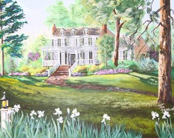 Southern Plantation - Prints