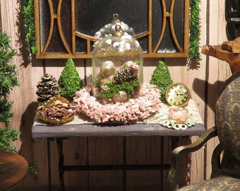 Dollshouse miniature furniture garden table onescale (1/12)