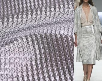 Silver organza Armani Prive, Ar-S886 — Silver organza — Armani Prive — organza Armani Prive — Silk organza — Silk Armani Prive — Silk