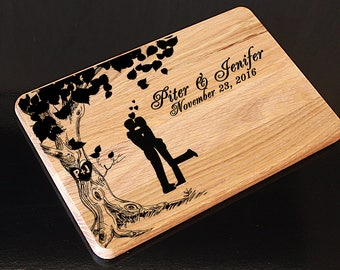 Free shipping with coupone code:FREESHIPPING01, Personalized Cutting Board, Wedding Gift Cutting Board, Wedding gift for couple, Christmas