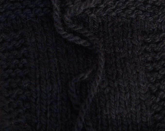 Black Kettle Dyed 2 ply worsted wool yarn from our fa.rm