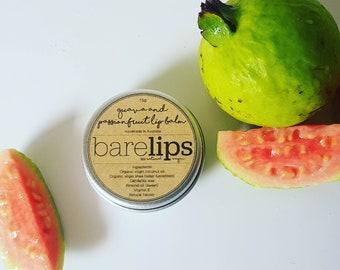 Guava & Passionfruit Lip Balm 15g (Natural, Vegan)