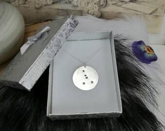 CANCER NECKLACE - zodiac jewellery - cancer constellation necklace - zodiac necklace - star sign necklace - zodiac - astrology- personalized
