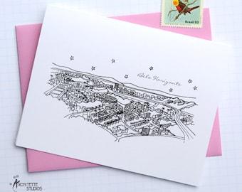 Belo Horizonte, Brazil - South America - Instant Download Printable Art - City Skyline Series