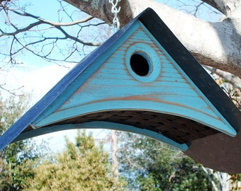MODERN BIRDHOUSE | Handcrafted Bird Hosue | Birdhouses