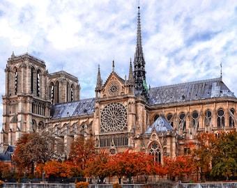 AUTUMN IN PARIS #1 Digital Photo Art Photography