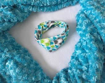 Baby Blue Infinity Scarf - Blue Toddler Infinity Scarf - Blue Scarves - Scarves for girls- Scarves for boys - Infinity scarves