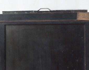 Antique Wood 8 x 10 Eastman Kodak film holder Black