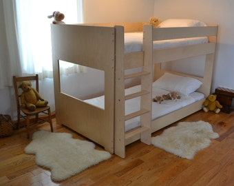 "Small bunk bed 48"" high"