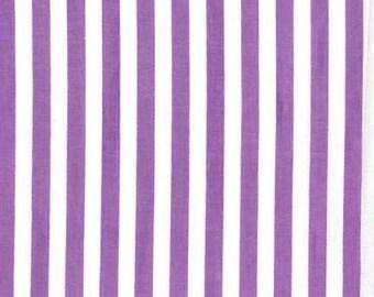 Purple Clown Stripes from Michael Miller Fabrics