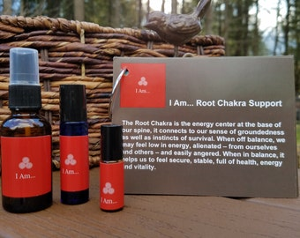 I Am... Root Chakra Essential Oil Blend