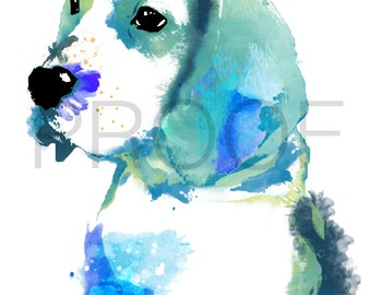 Beagle || Hound || Bill the Beagle || Beagle Art || Dog Art || Watercolor Dog Art || Watercolor Dog || Hound Art