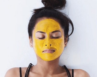 Acne Mask, Acne Treatment, Turmeric Beauty Mask, Turmeric Face Mask,  Blemish Mask, Rosacea Mask, Acne Scars, Uneven Skin Tone
