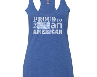 Patriotic Tanks. 4th Of July Shirt Women. Fourth of July. July 4th. Red White and Blue. Stars and Stripes. USA Shirt. Patriotic Clothing.
