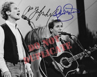 Simon and Garfunkel - Autographed 8 x 12 Photo - BOGO Special Offer!
